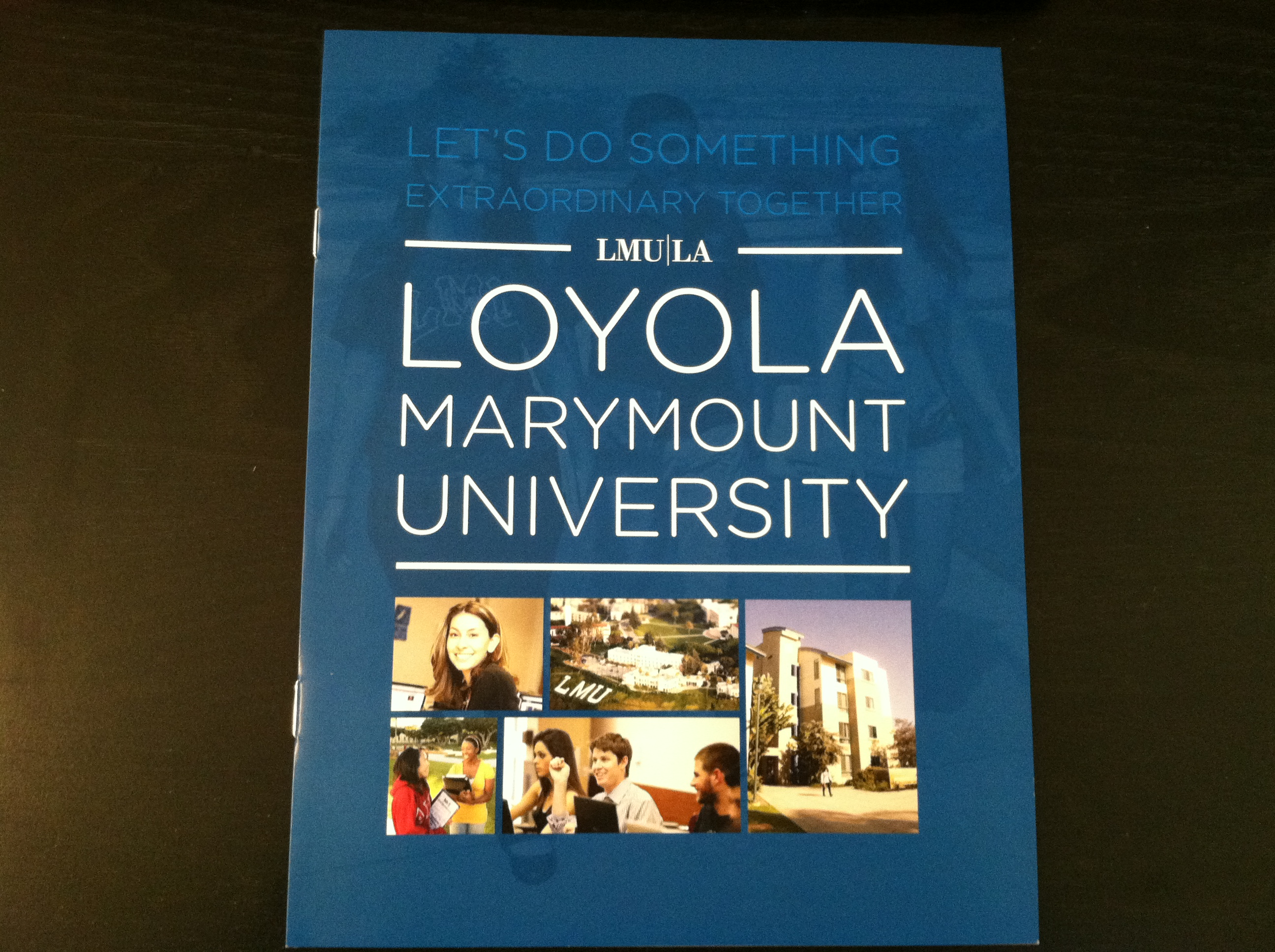lmu essay To apply for admission submit the common application online, or submit the lmu online application loyola marymount university is committed in.