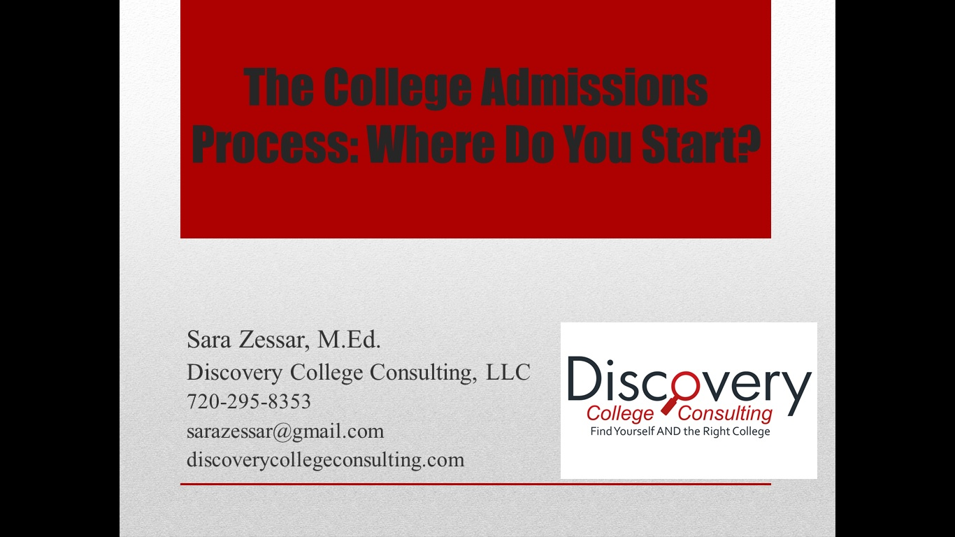 Denver college consultant, Denver college counselor, Denver college consulting, Denver college counseling